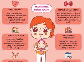 Ragu Menggunakan Jasa Baby Sitter? Yuk, Cari Tahu Manfaatnya