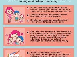 Menangani dan Mencegah Sibling Rivalry? Berikut Tipsnya untuk Mommy